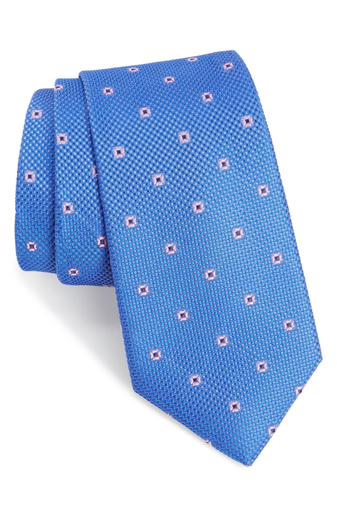 NORDSTROM MEN'S SHOP Dazzle Neat Silk Tie