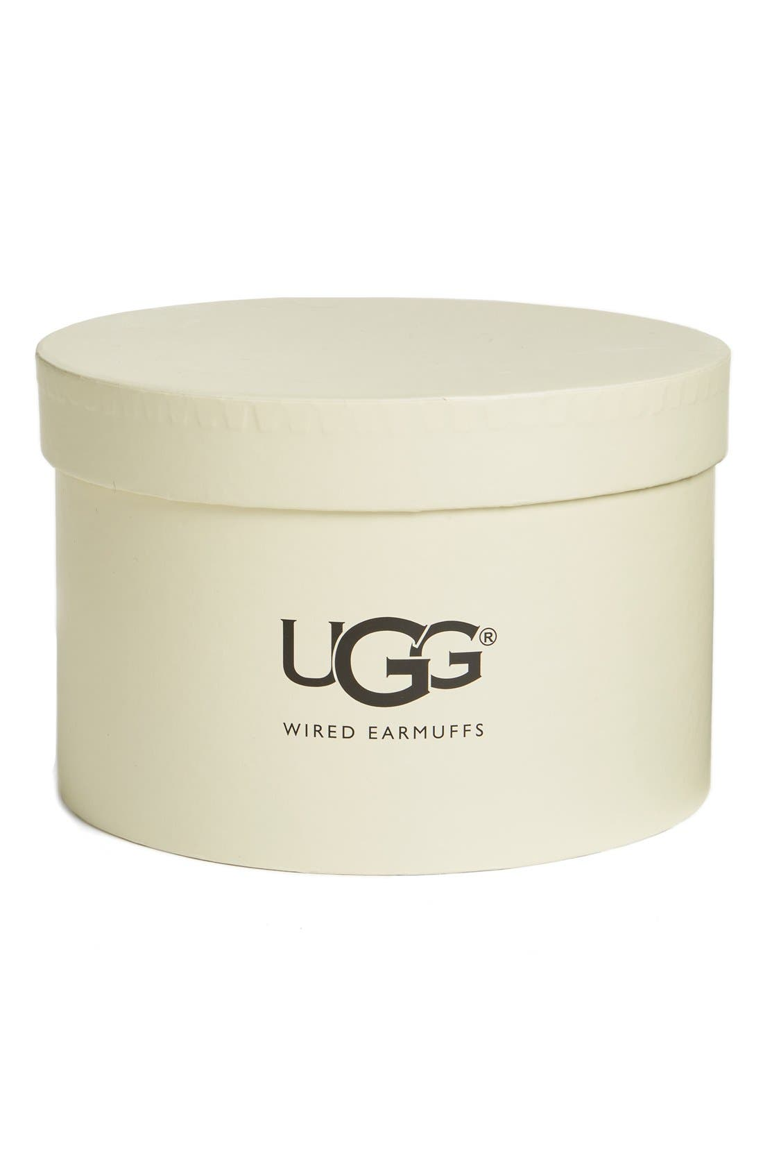 Alternate Image 2  - UGG® Genuine Shearling Headphone Earmuffs