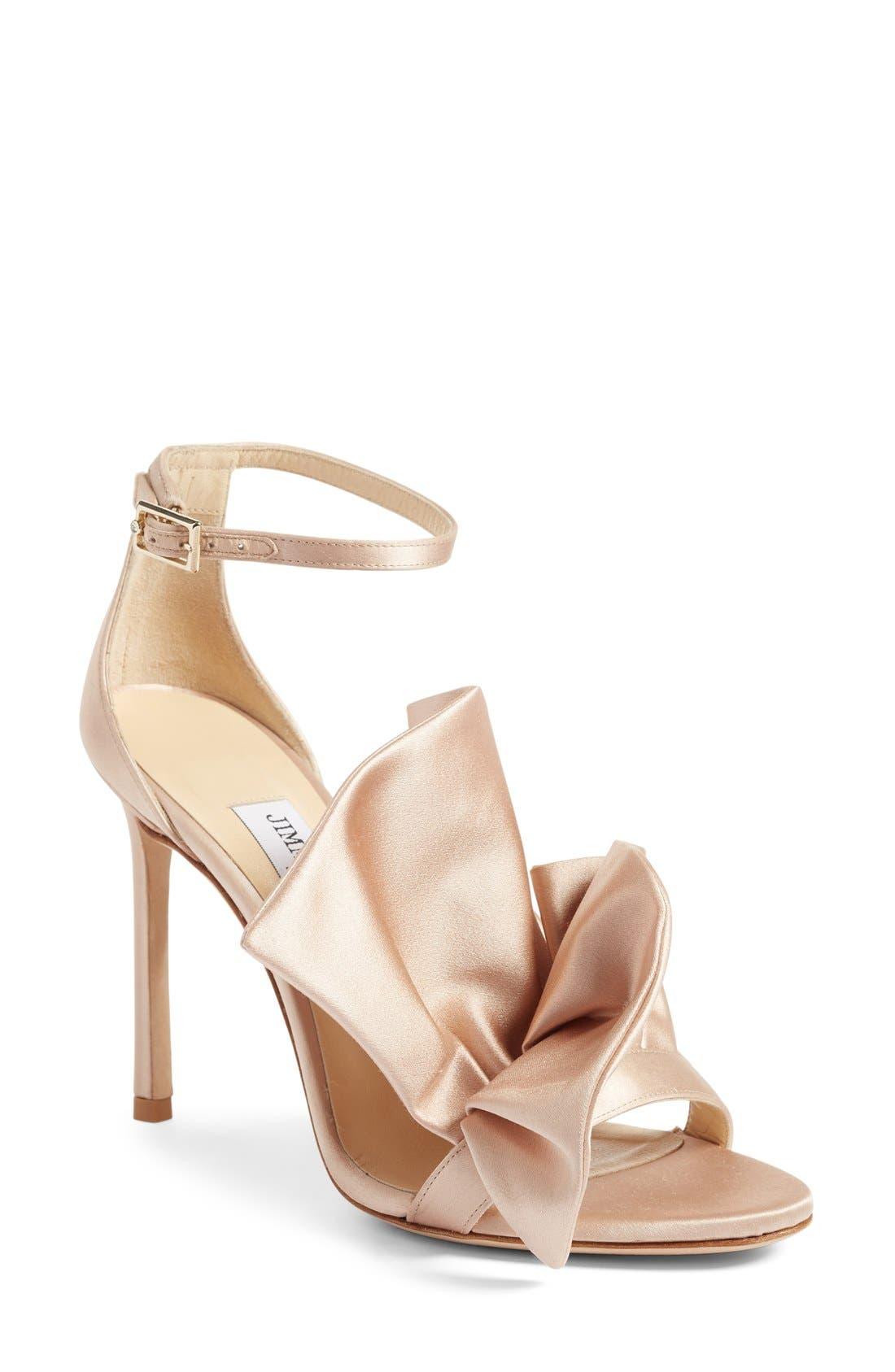 Main Image - Jimmy Choo Kami Ruffle Sandal (Women)