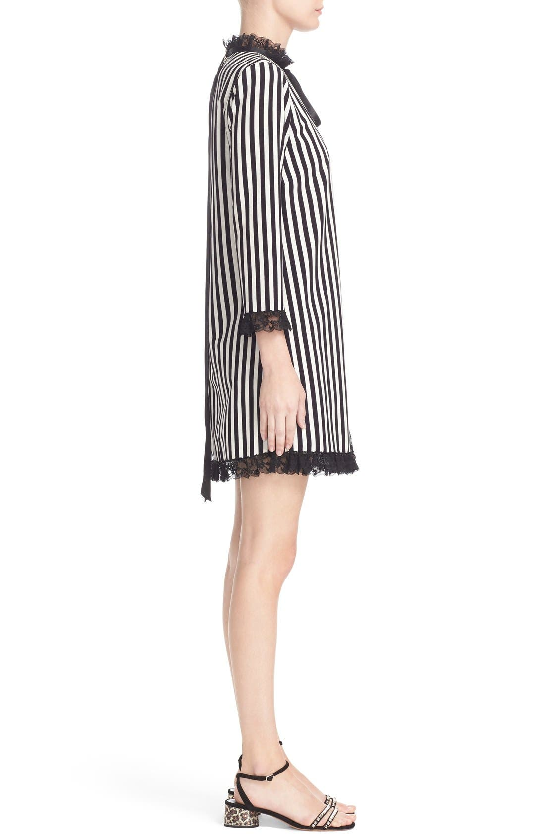 Alternate Image 5  - MARC JACOBS Stripe Crepe Babydoll Dress
