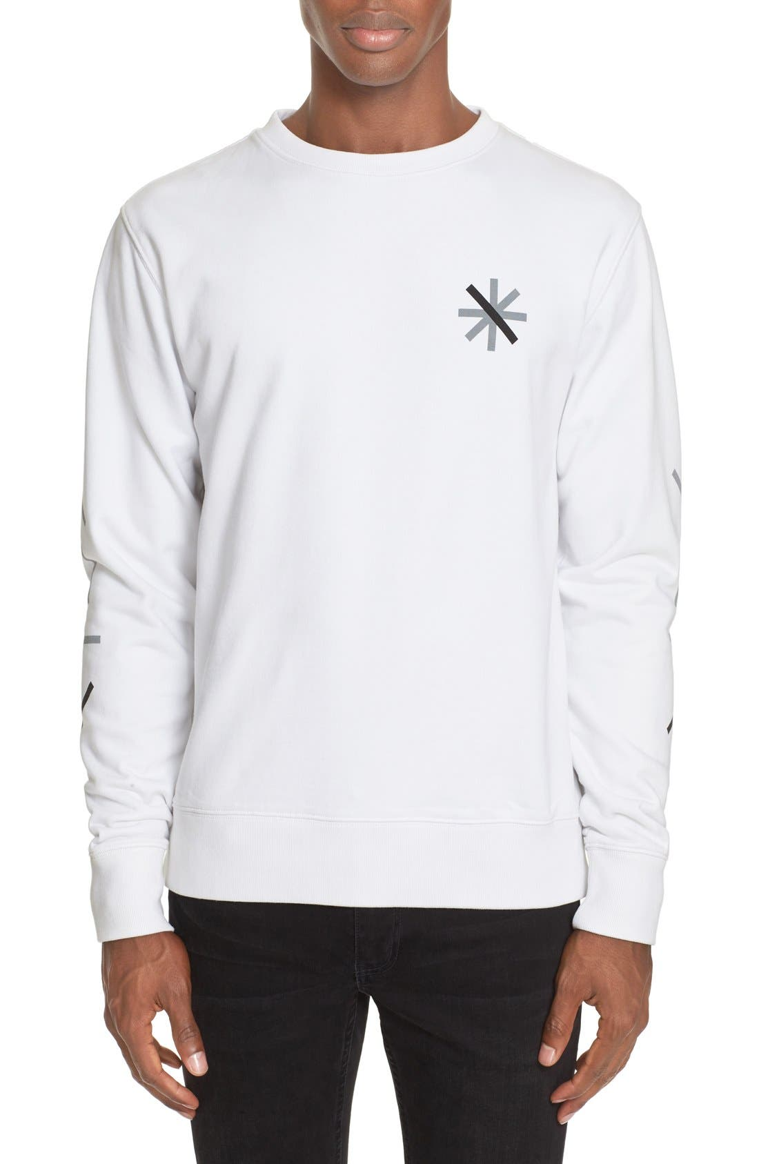 SATURDAYS NYC Bowery Graphic Sweatshirt