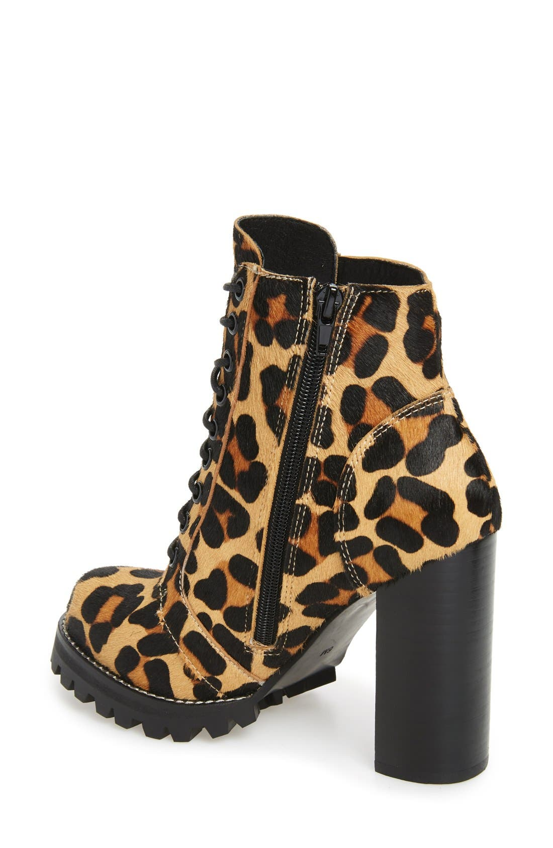 Alternate Image 2  - Jeffrey Campbell Legion Genuine Calf Hair Bootie (Women)