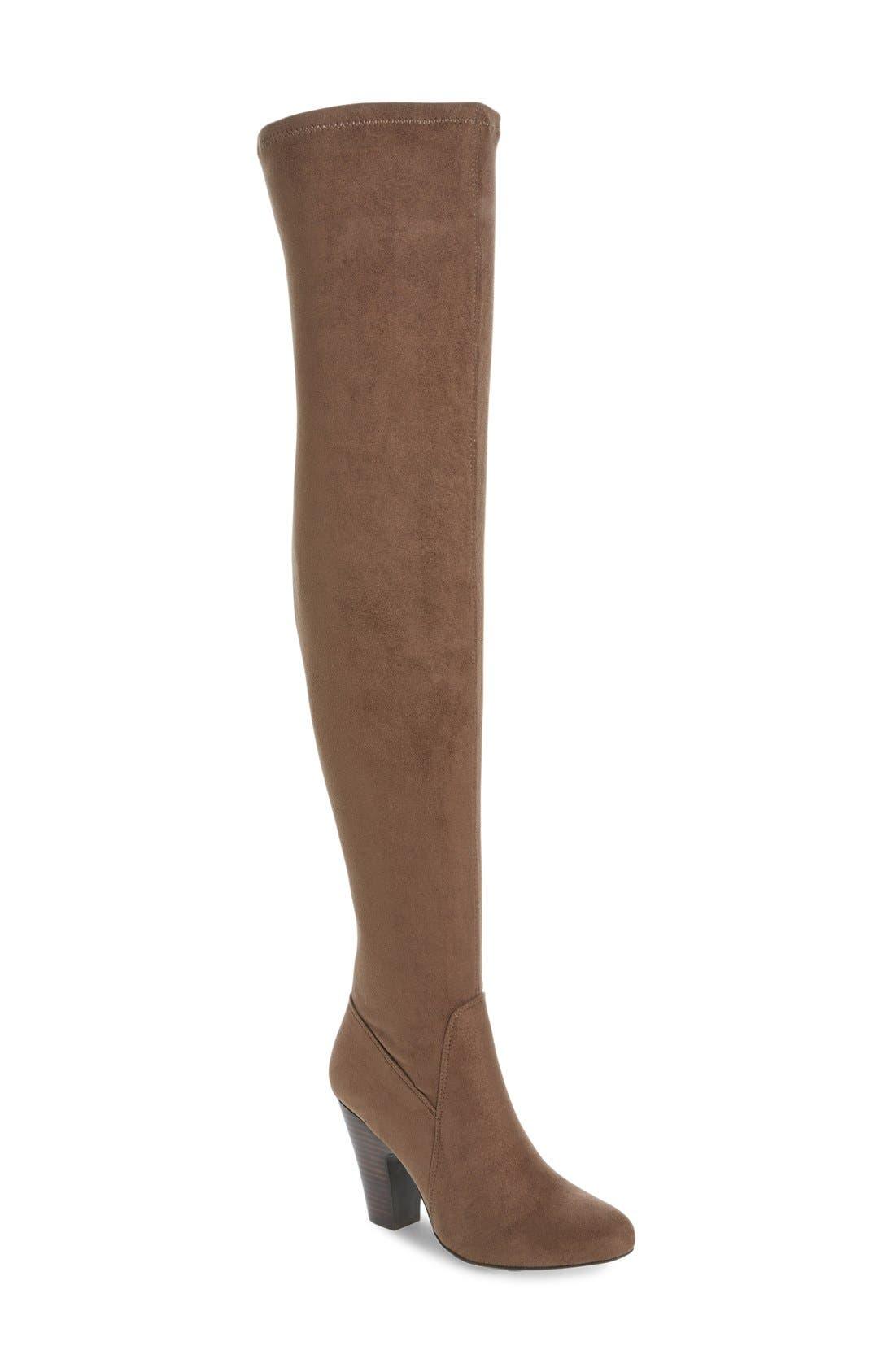 Alternate Image 1 Selected - MIA Emelia Thigh High Boot (Women)