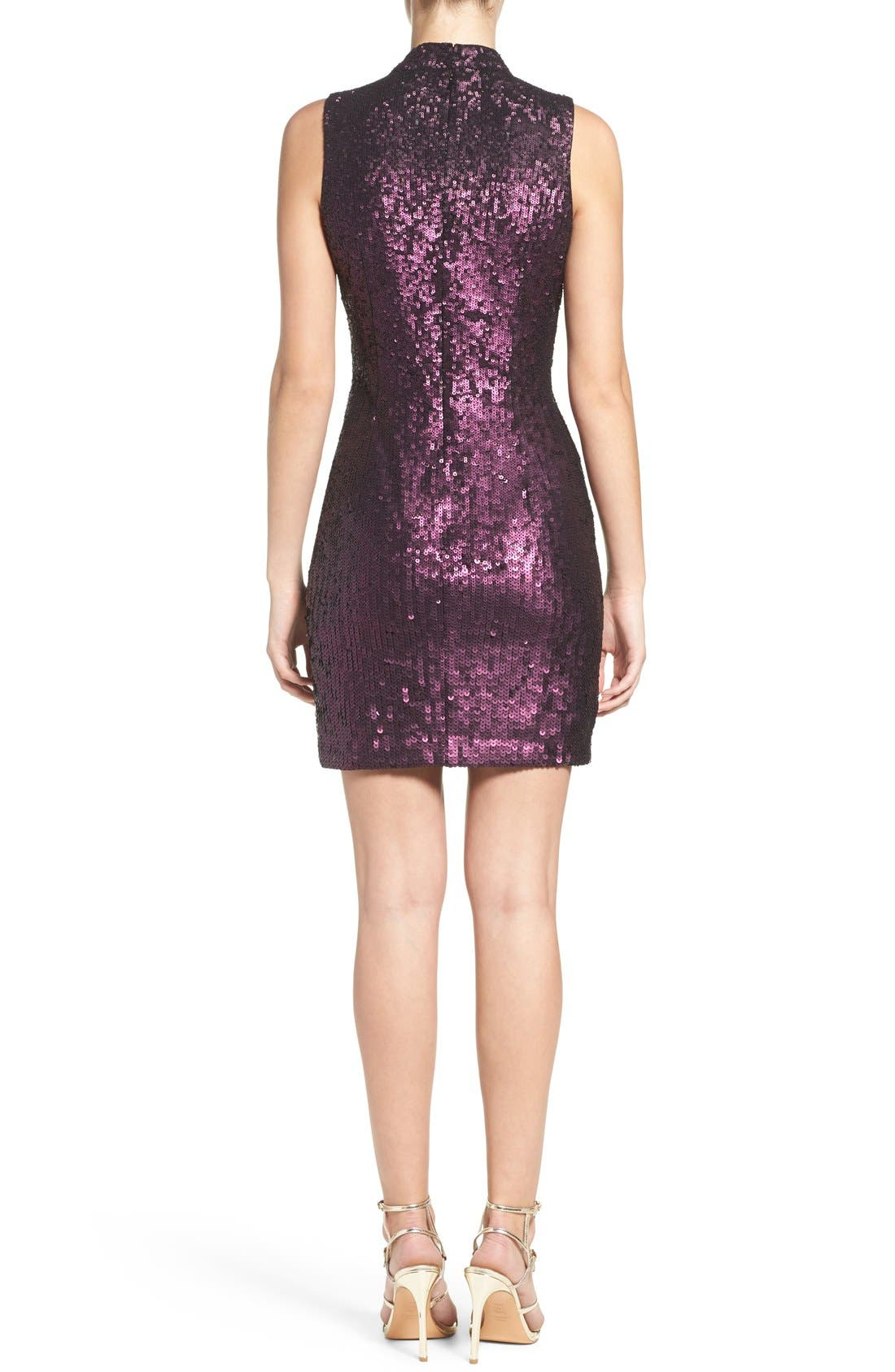 Alternate Image 2  - French Connection Sequin Body-Con Dress