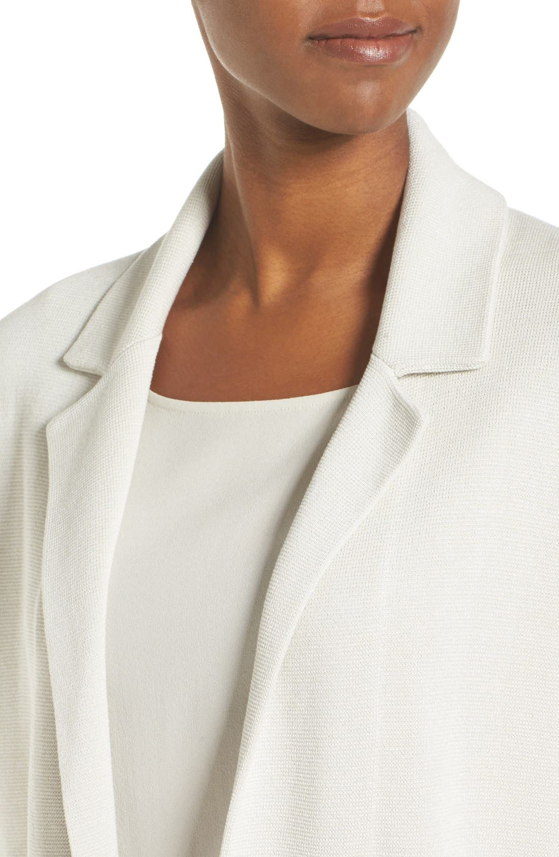 Alternate Image 4  - Eileen Fisher Silk & Organic Cotton Jacket