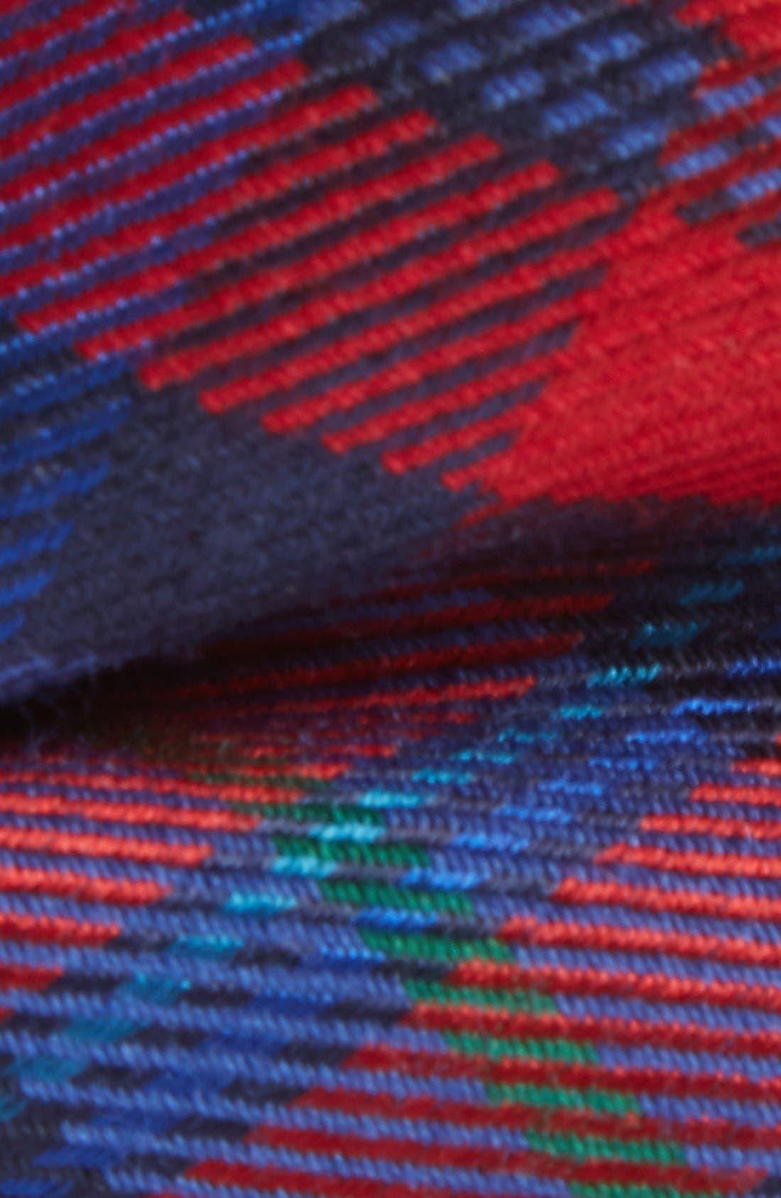 Alternate Image 2  - Nordstrom Plaid Wool & Silk Bow Tie (Big Boys)