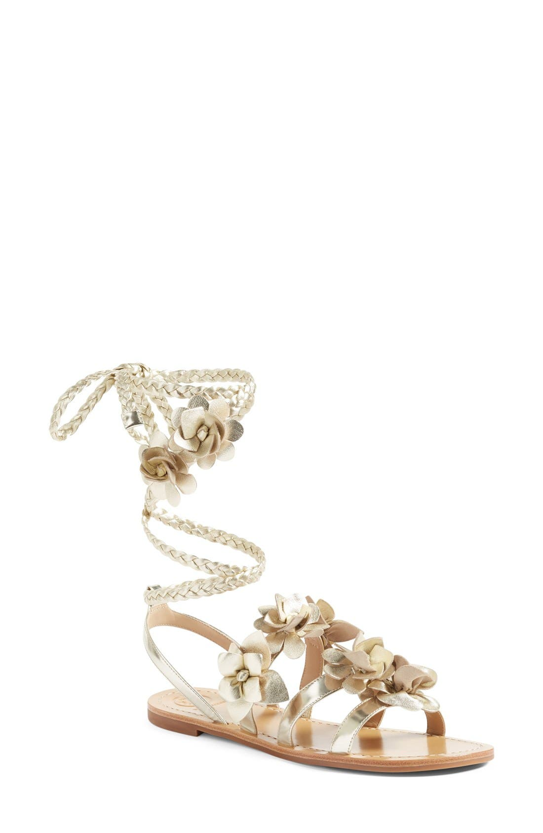 TORY BURCH Blossom Gladiator Sandal