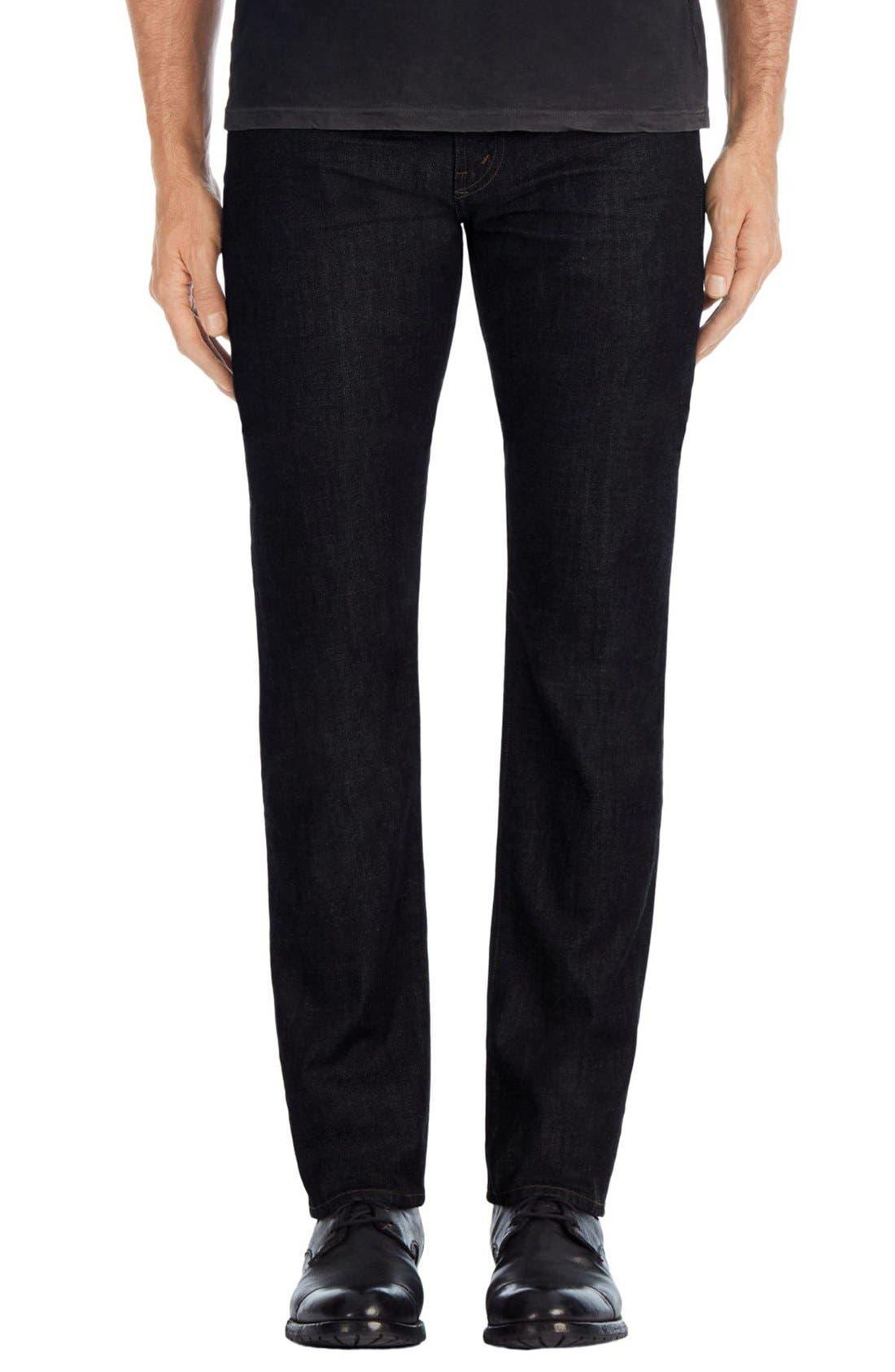 J Brand Kane Slim Straight Leg Jeans (Hood Blue)