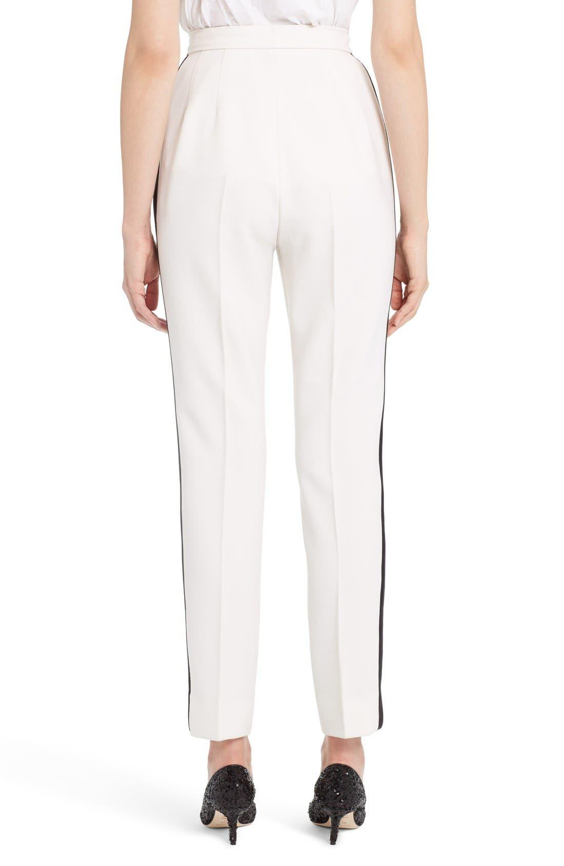 Alternate Image 2  - Dolce&Gabbana Crop Tuxedo Pants