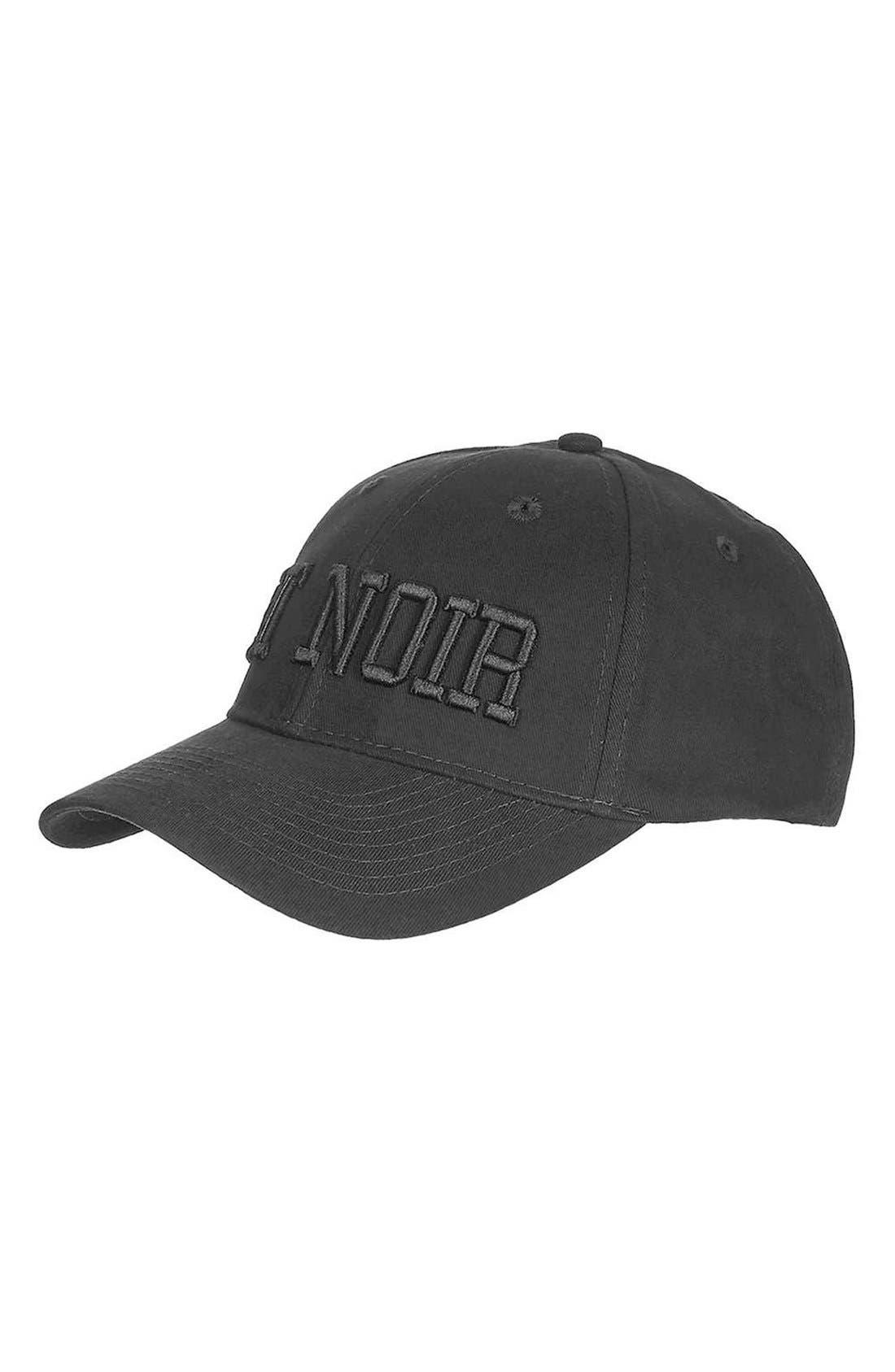 Alternate Image 1 Selected - Topshop Et Noir Baseball Cap