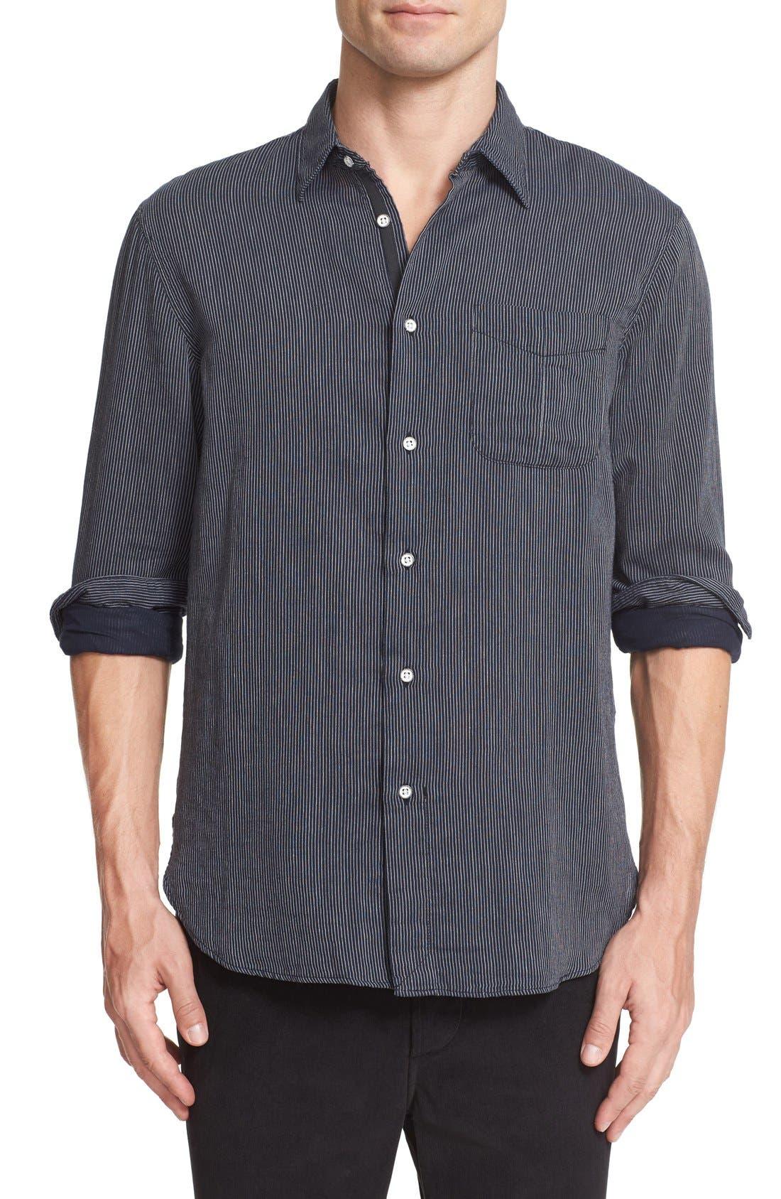 RAG & BONE Beach Stripe Shirt