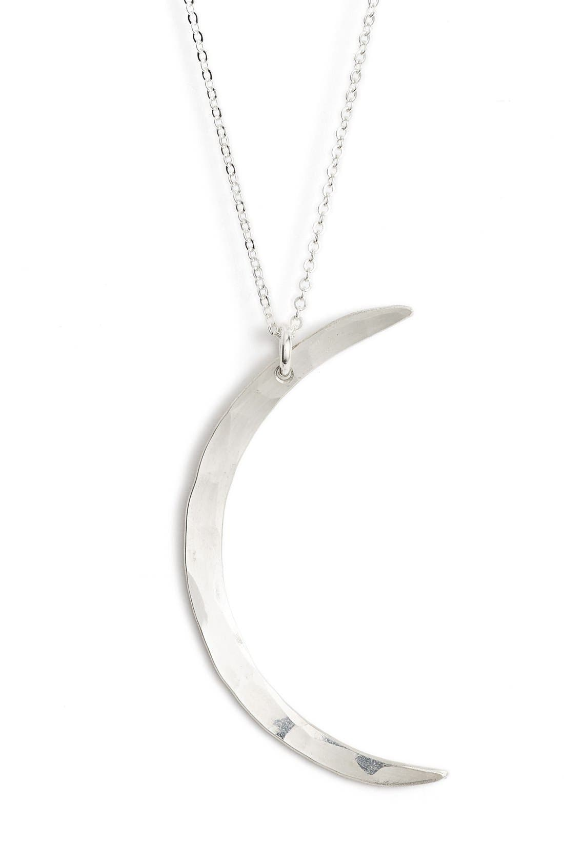 Alternate Image 1 Selected - Nashelle Moon Pendant Necklace