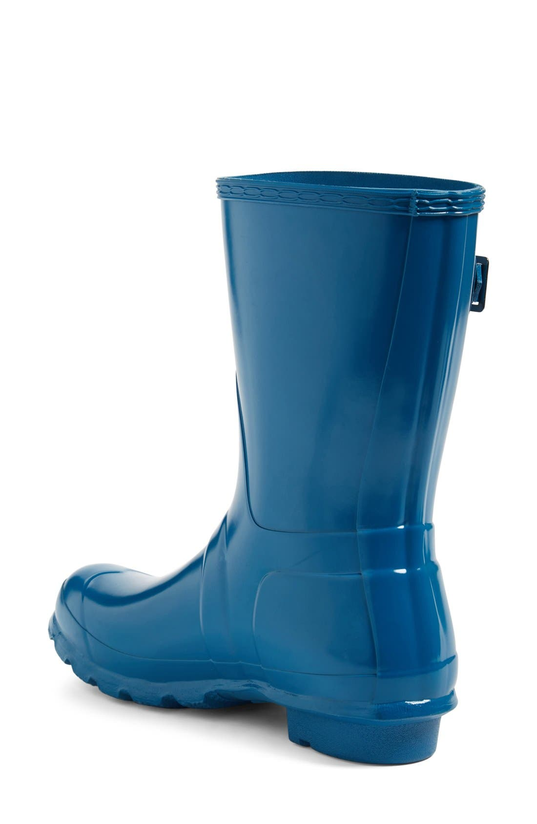 Alternate Image 2  - Hunter 'Original Short' Gloss Rain Boot (Women)