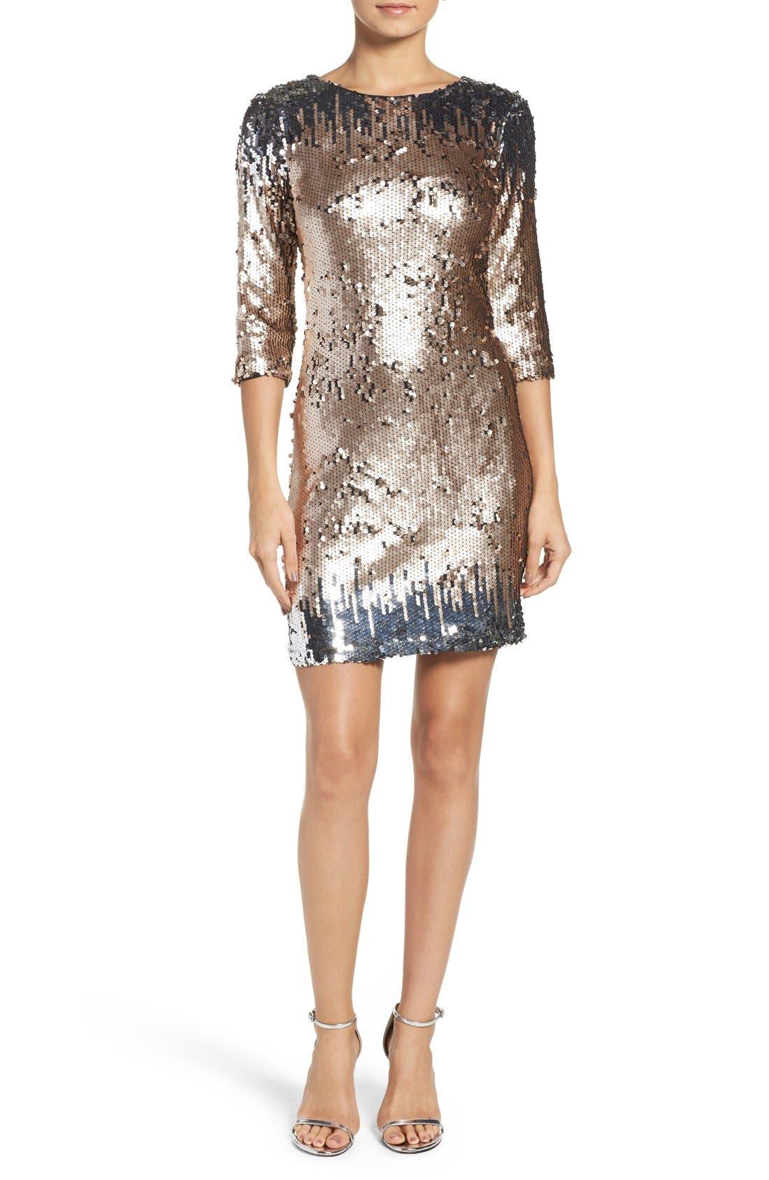 Alternate Image 4  - BB Dakota Elise Sequin Body-Con Dress