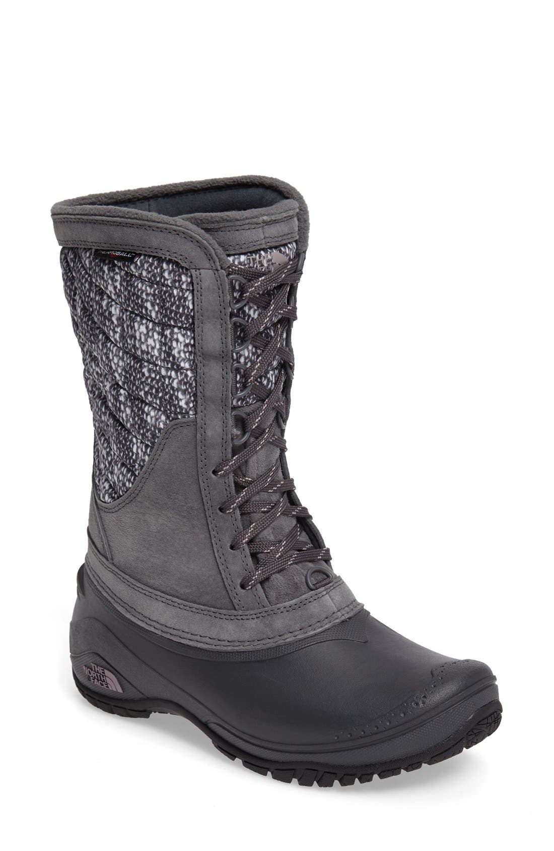 Main Image - The North Face ThermoBall™ Utility Waterproof Boot (Women)