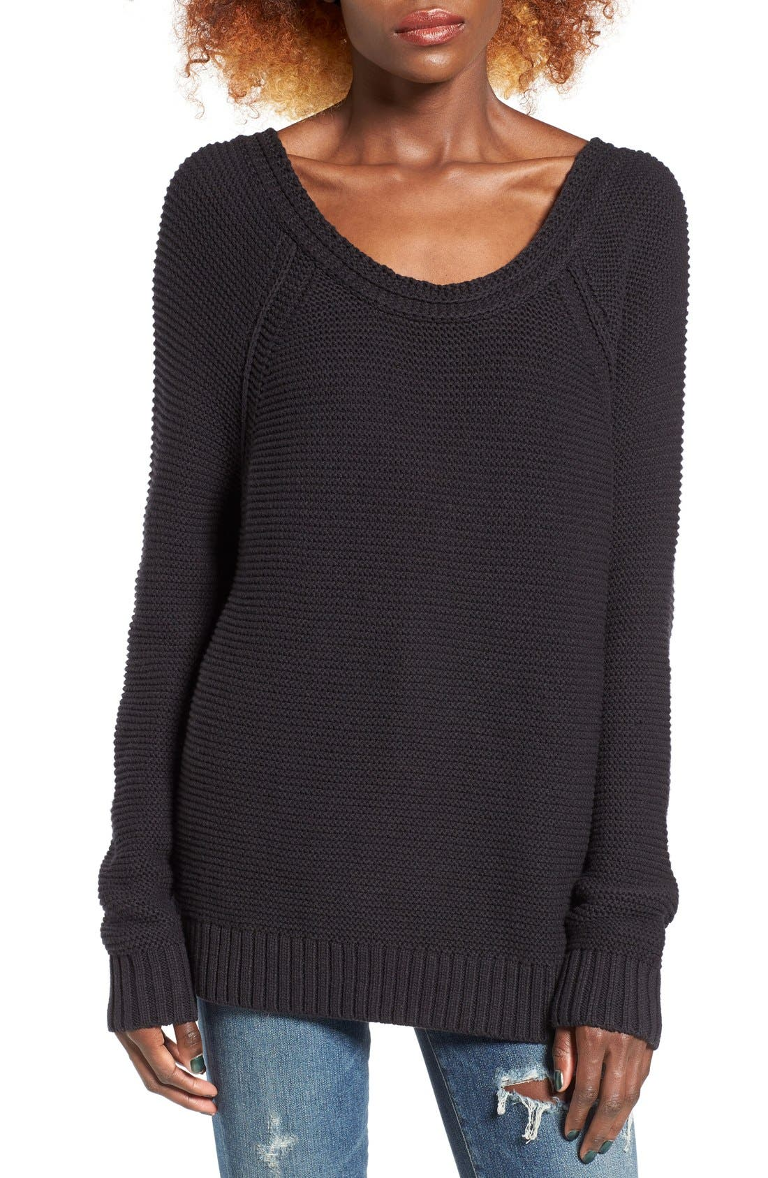 Alternate Image 1 Selected - Roxy Lost Coastlines Knit Sweater