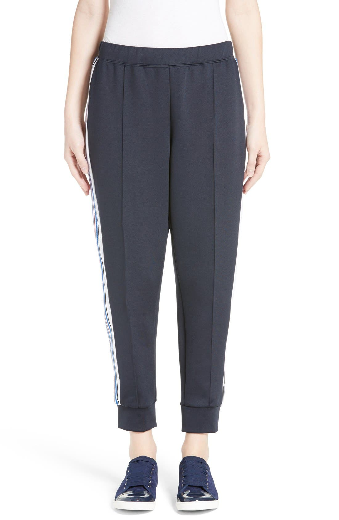 être cécile Ribbed Stripe Track Pants