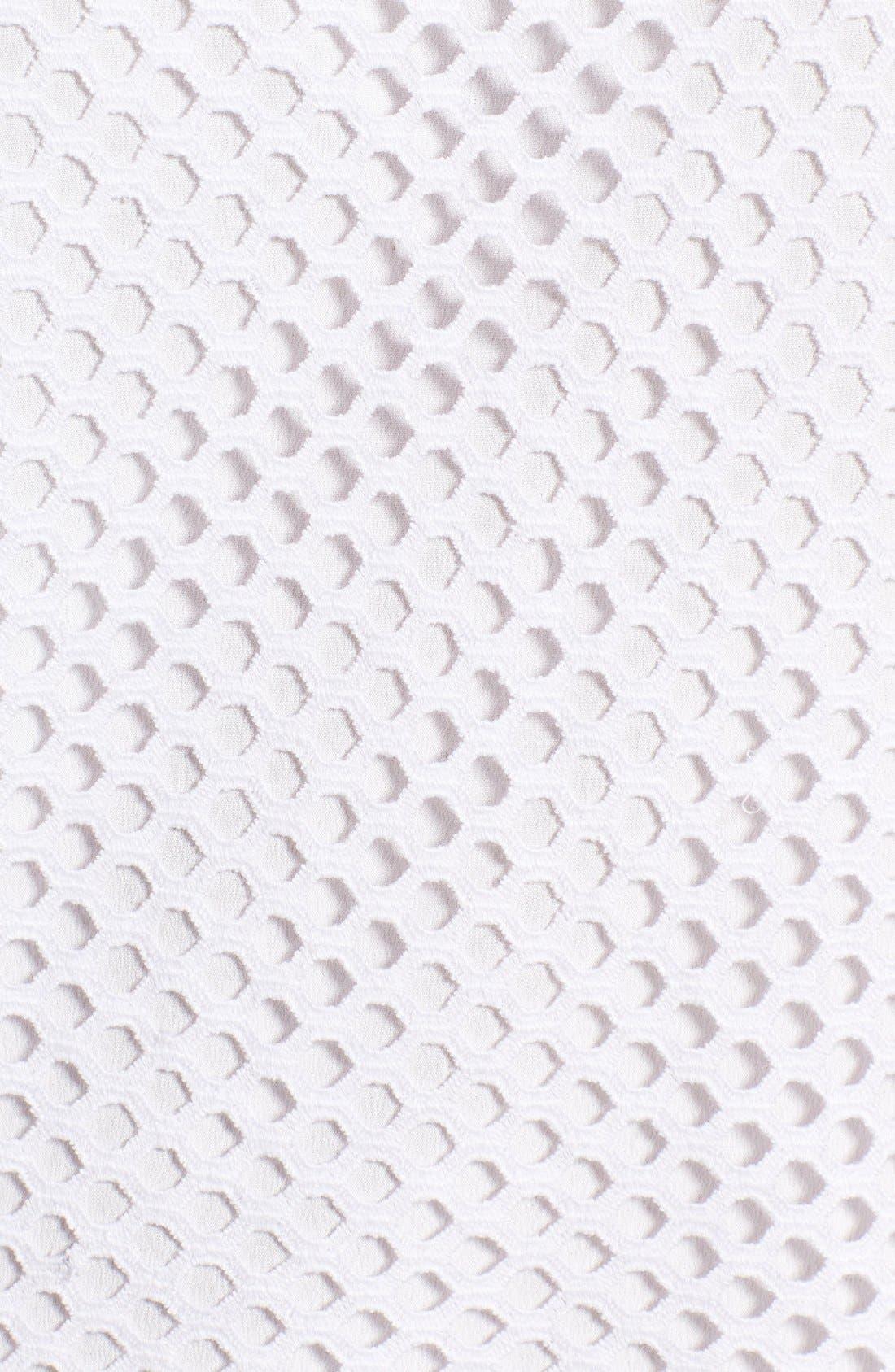 Alternate Image 6  - Trouvé Lace Mesh Top