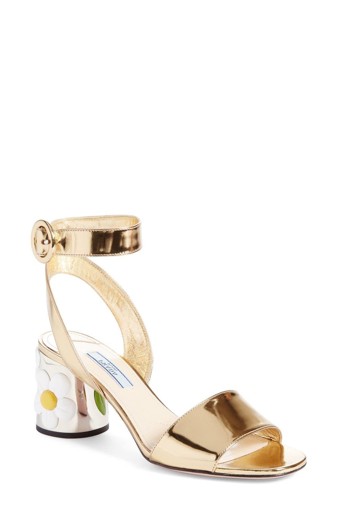 Prada Daisy Heel Sandal (Women)