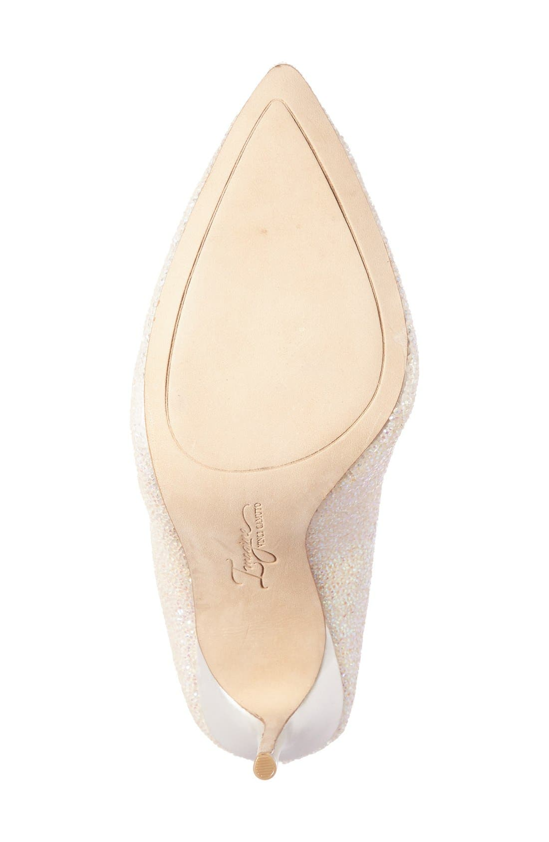 Alternate Image 4  - Imagine by Vince Camuto 'Olson' Crystal Embellished Pump (Women)