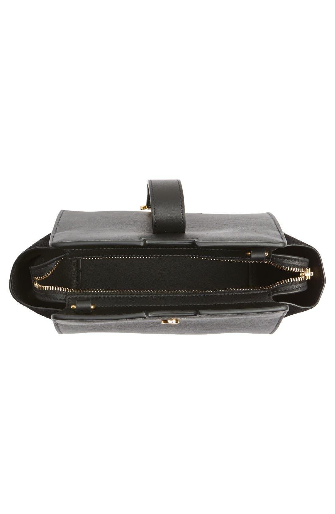 Alternate Image 4  - Saint Laurent Toy Cabas Leather Crossbody Bag