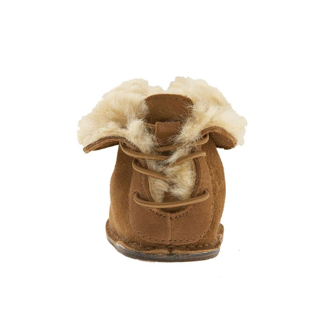 Alternate Image 4  - UGG® 'Boo' Bootie (Baby & Walker)