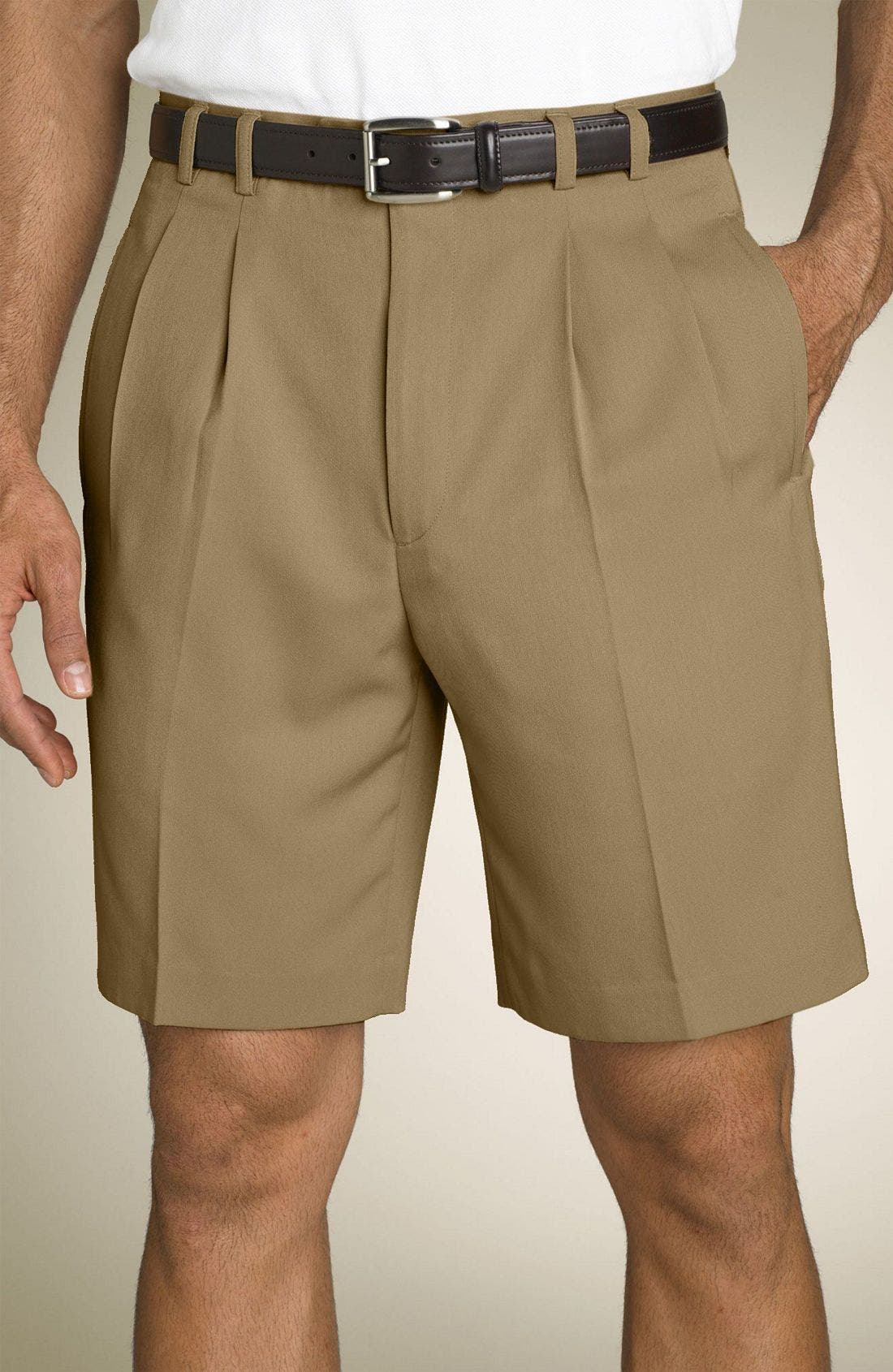 Main Image - Cutter & Buck Microfiber Golf Shorts (Big & Tall)
