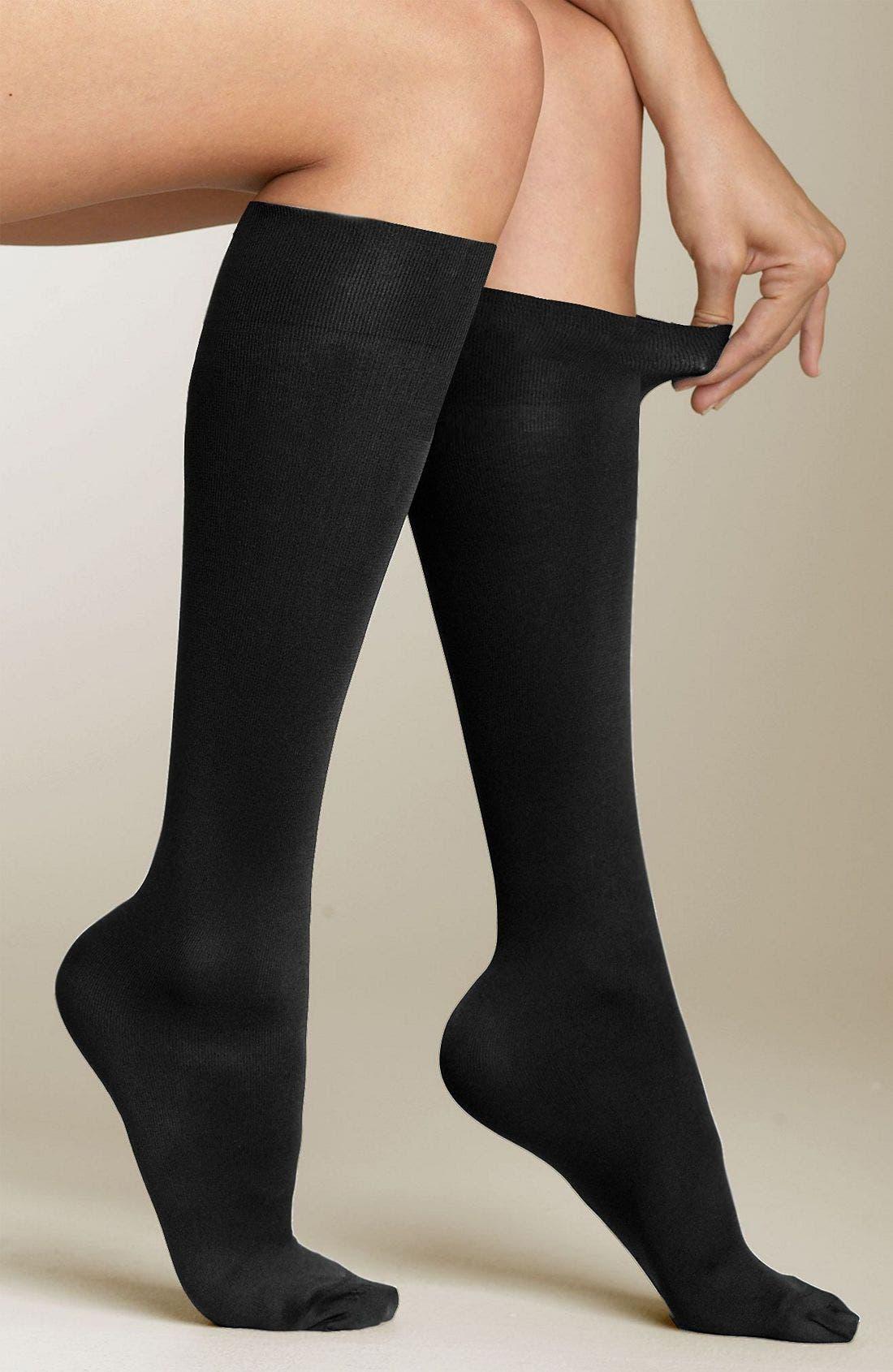 Alternate Image 1 Selected - SPANX® Topless Trouser Socks (2 for $25)