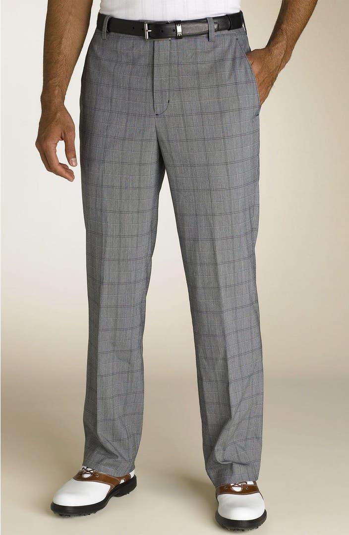 Tiger Woods Golf Apparel Flat Front Pants Nordstrom