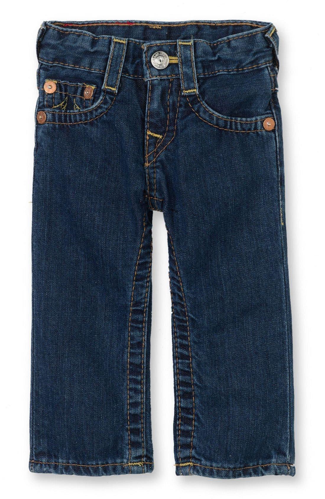 Alternate Image 2  - True Religion Brand Jeans 'Baby Billy' Jeans (Infant)