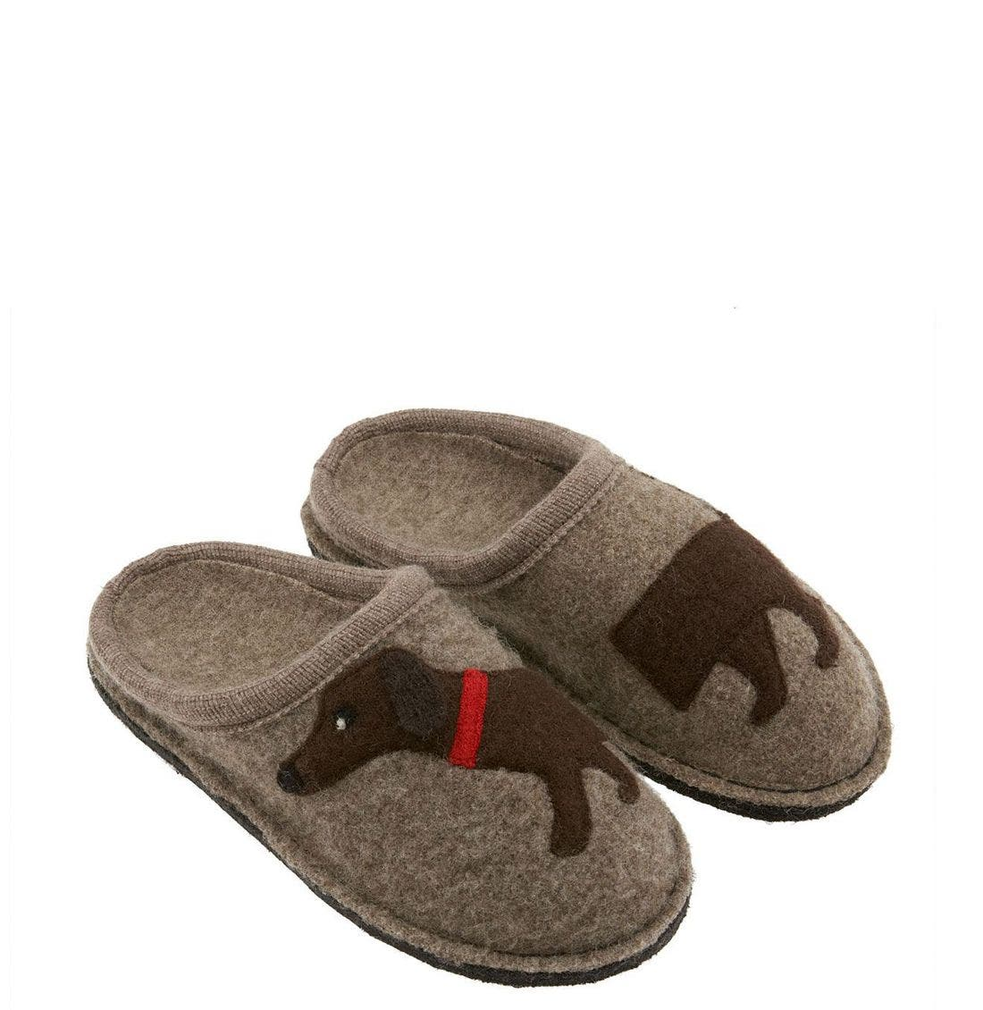 Haflinger 'Doggy' Slipper