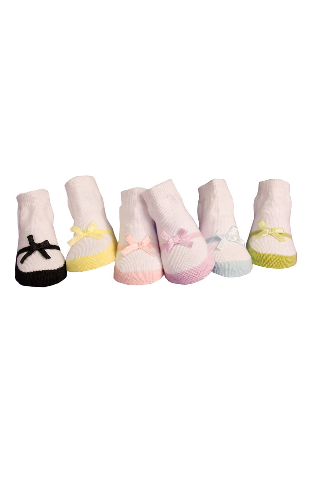 Alternate Image 1 Selected - Trumpette Socks Gift Set (Baby Girls)