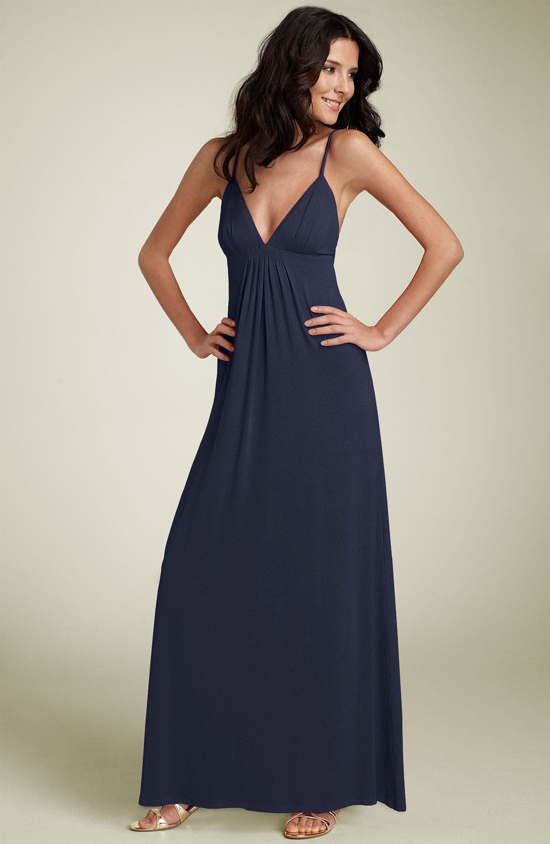 Main Image - Julie Brown Jersey Knit Maxi Dress
