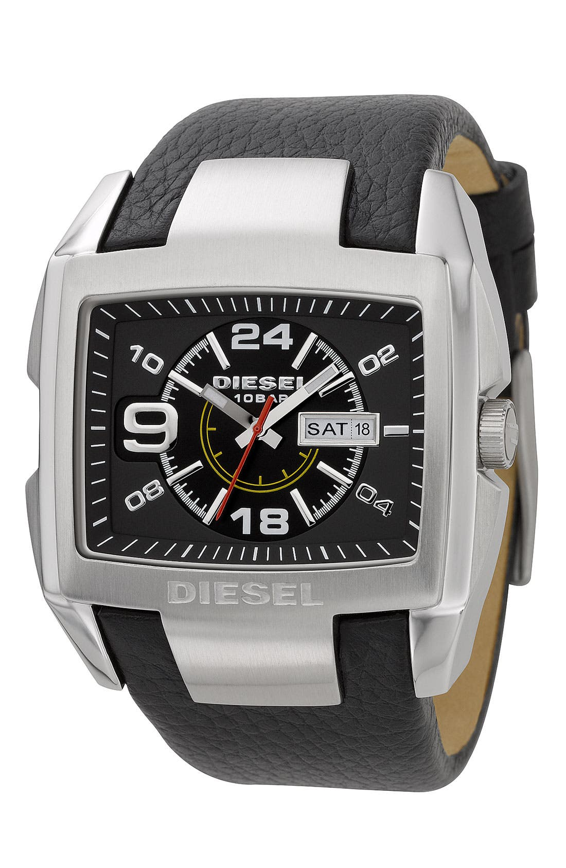 Alternate Image 2  - DIESEL® 'Bugout' Layered Dial Watch, 54mm x 49mm