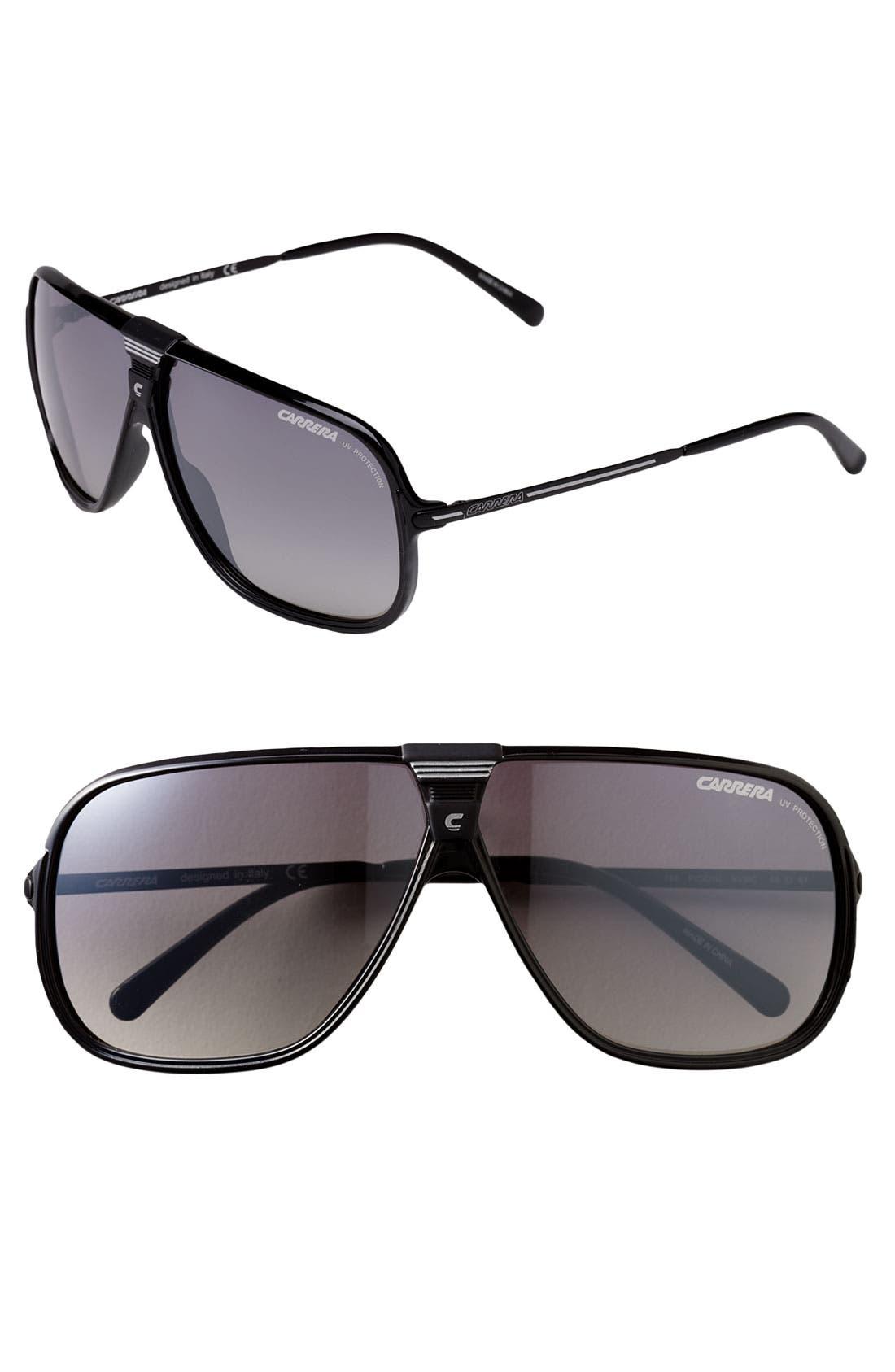 Main Image - Carrera Eyewear 'Picchu' Aviator Sunglasses