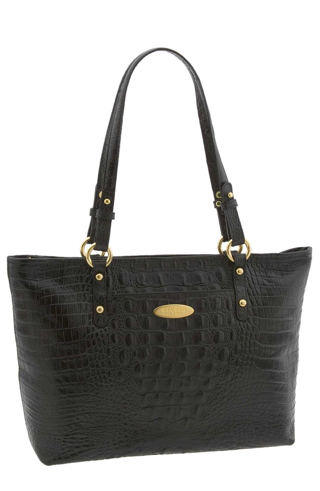 Alternate Image 1 Selected - Brahmin 'Alden - Medium' Zip Top Tote
