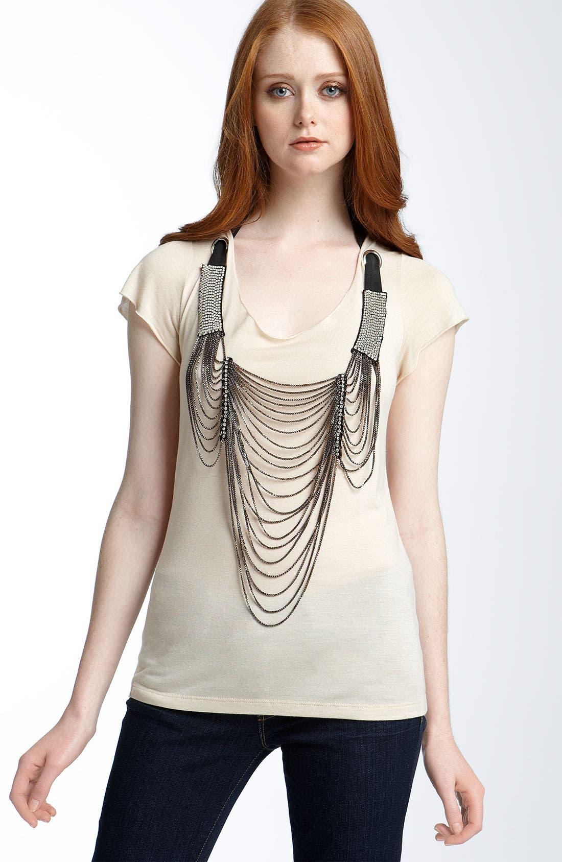 Alternate Image 1 Selected - Haute Hippie Necklace Tee