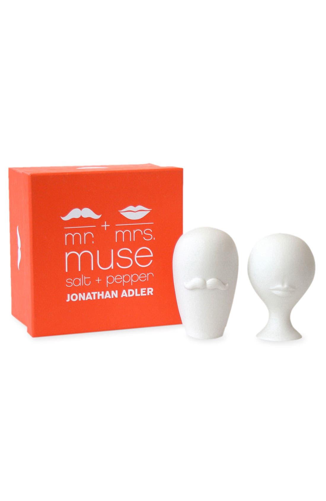 Main Image - Jonathan Adler 'Mr. & Mrs. Muse' Salt & Pepper Shakers