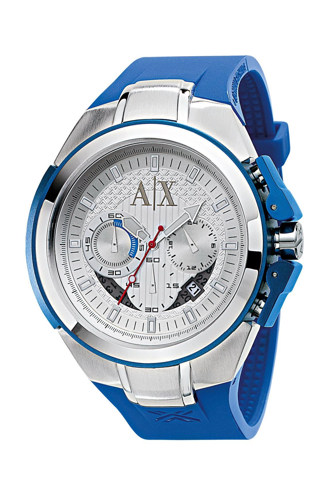 Main Image - AX Armani Exchange Men's Chronograph Watch, 38mm