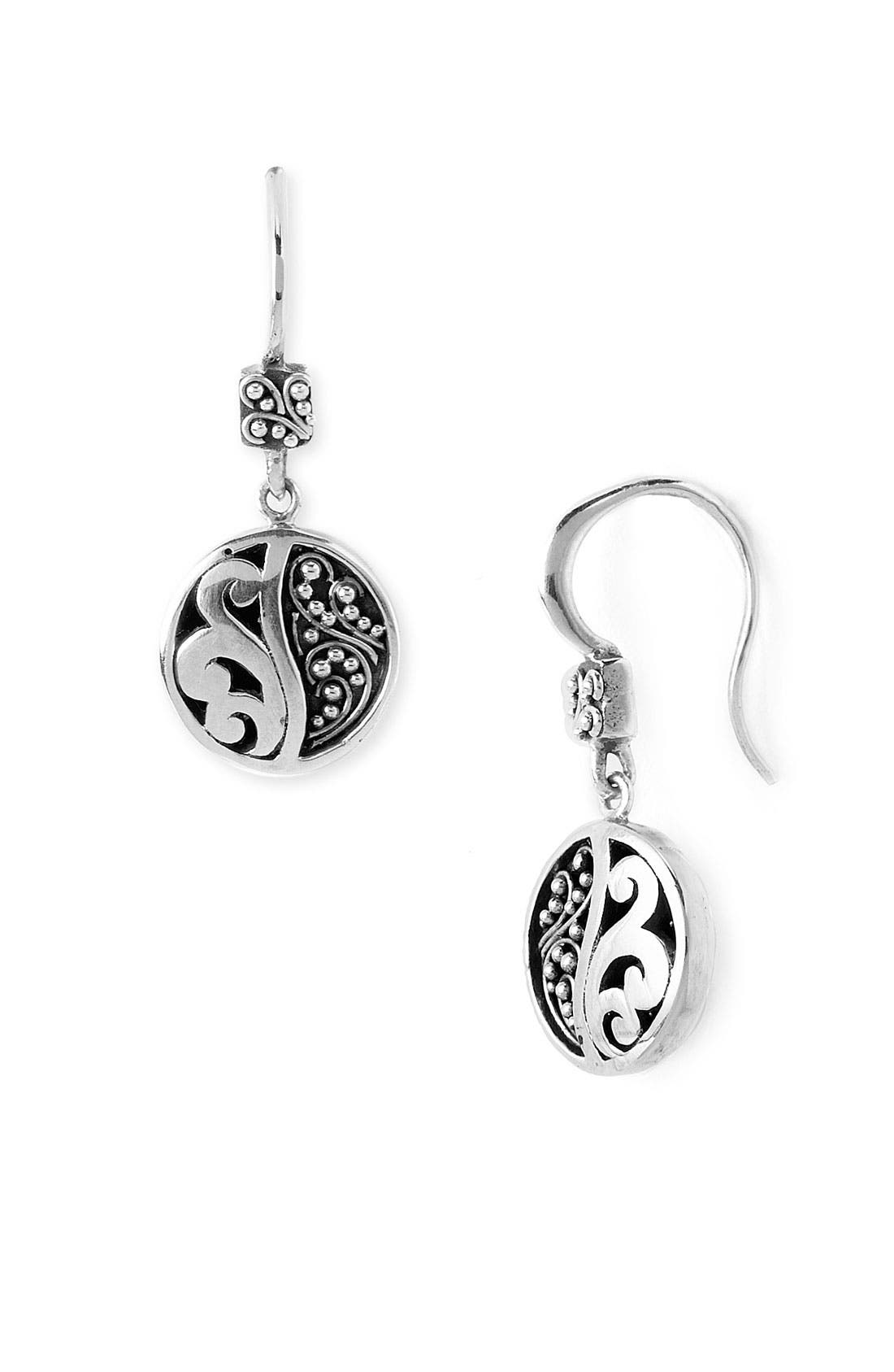 Alternate Image 1 Selected - Lois Hill Round Drop Earrings