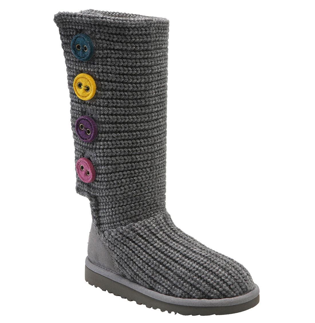Main Image - UGG® Australia 'Cardy II' Crochet Boot (Toddler, Little Kid & Big Kid)