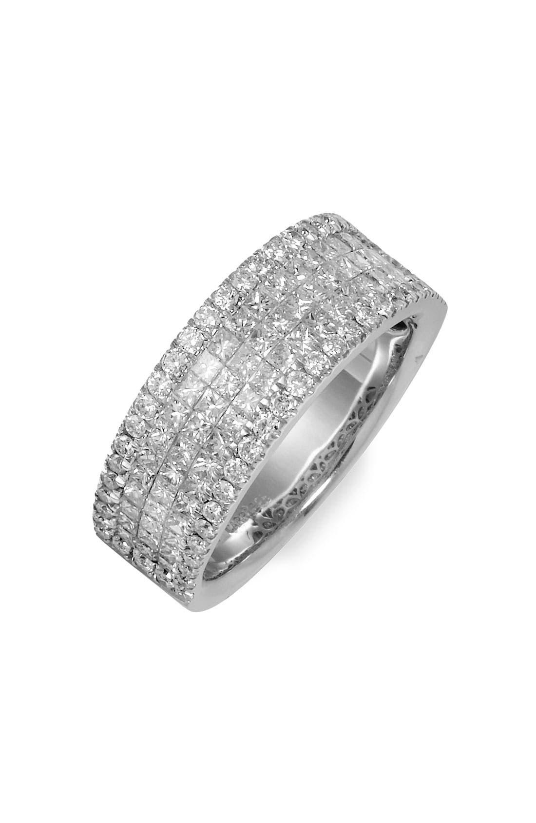 Main Image - Bony Levy Five Row Diamond Ring (Nordstrom Exclusive)