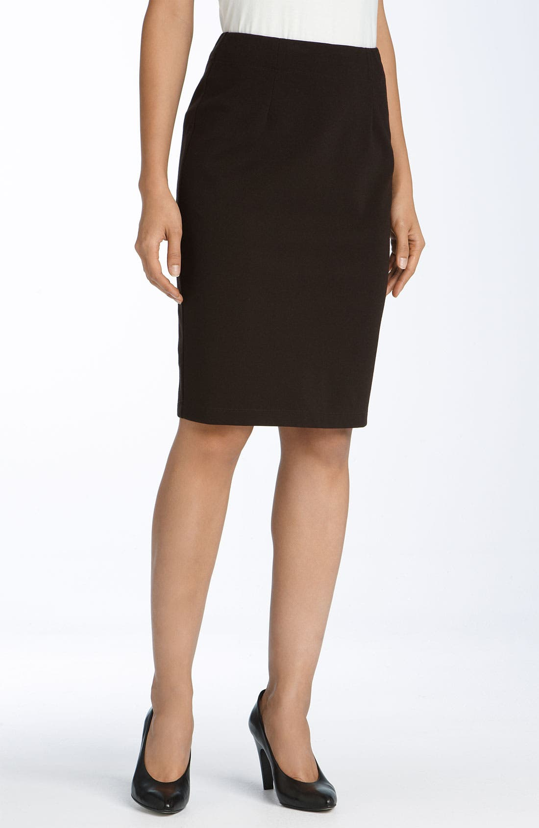 Alternate Image 1 Selected - Eileen Fisher Ponte Knit Pencil Skirt