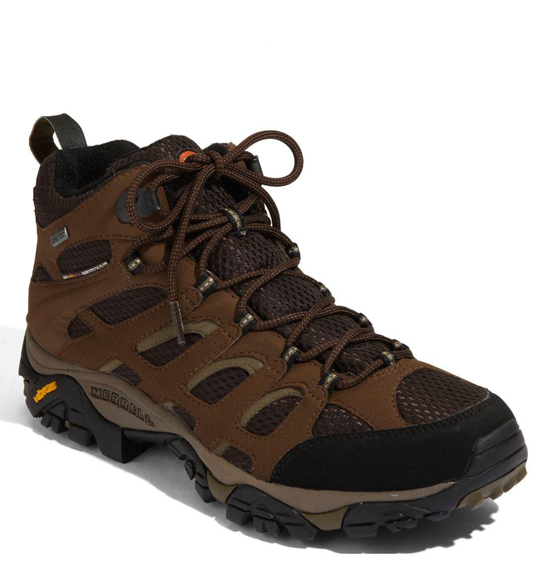 Main Image - Merrell 'Moab Mid Gore-Tex® XCR' Hiking Boot (Men)