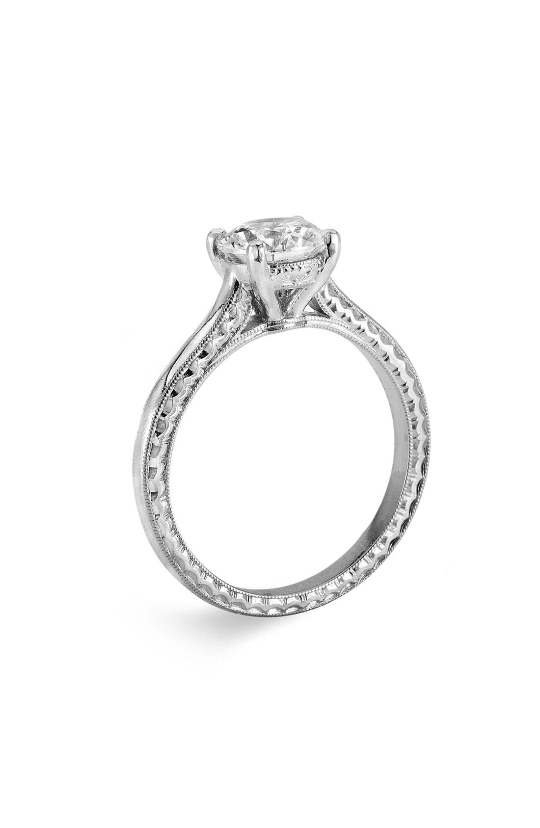 Alternate Image 1 Selected - Jack Kelége 'Silhouette' Engagement Ring Setting
