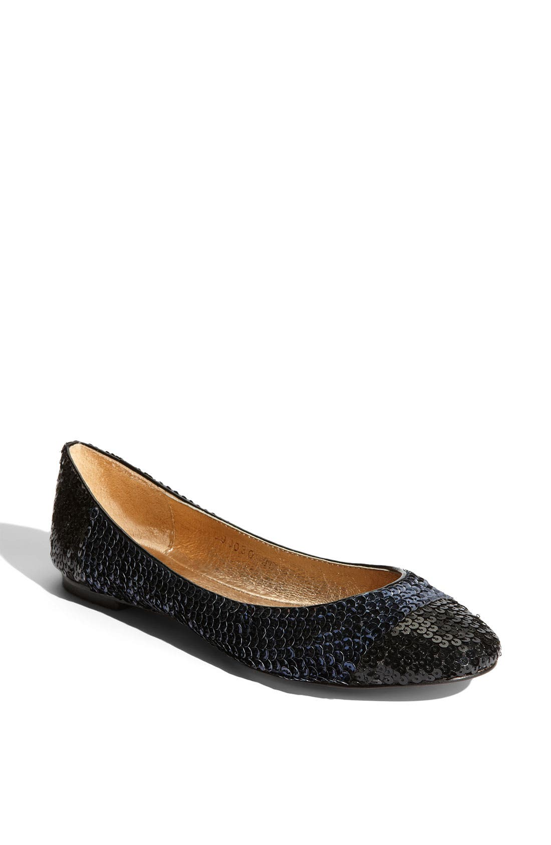 Main Image - All Black 'More' Sequin Flat