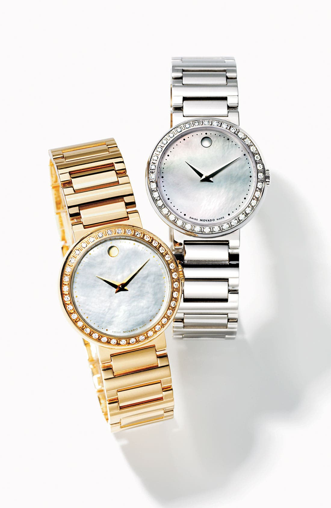 Alternate Image 2  - Movado 'Concerto' Diamond Watch
