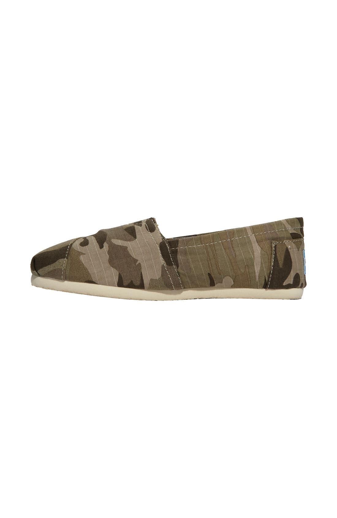 Alternate Image 2  - TOMS 'Classic - Camo' Slip-On (Women) (Nordstrom Exclusive)