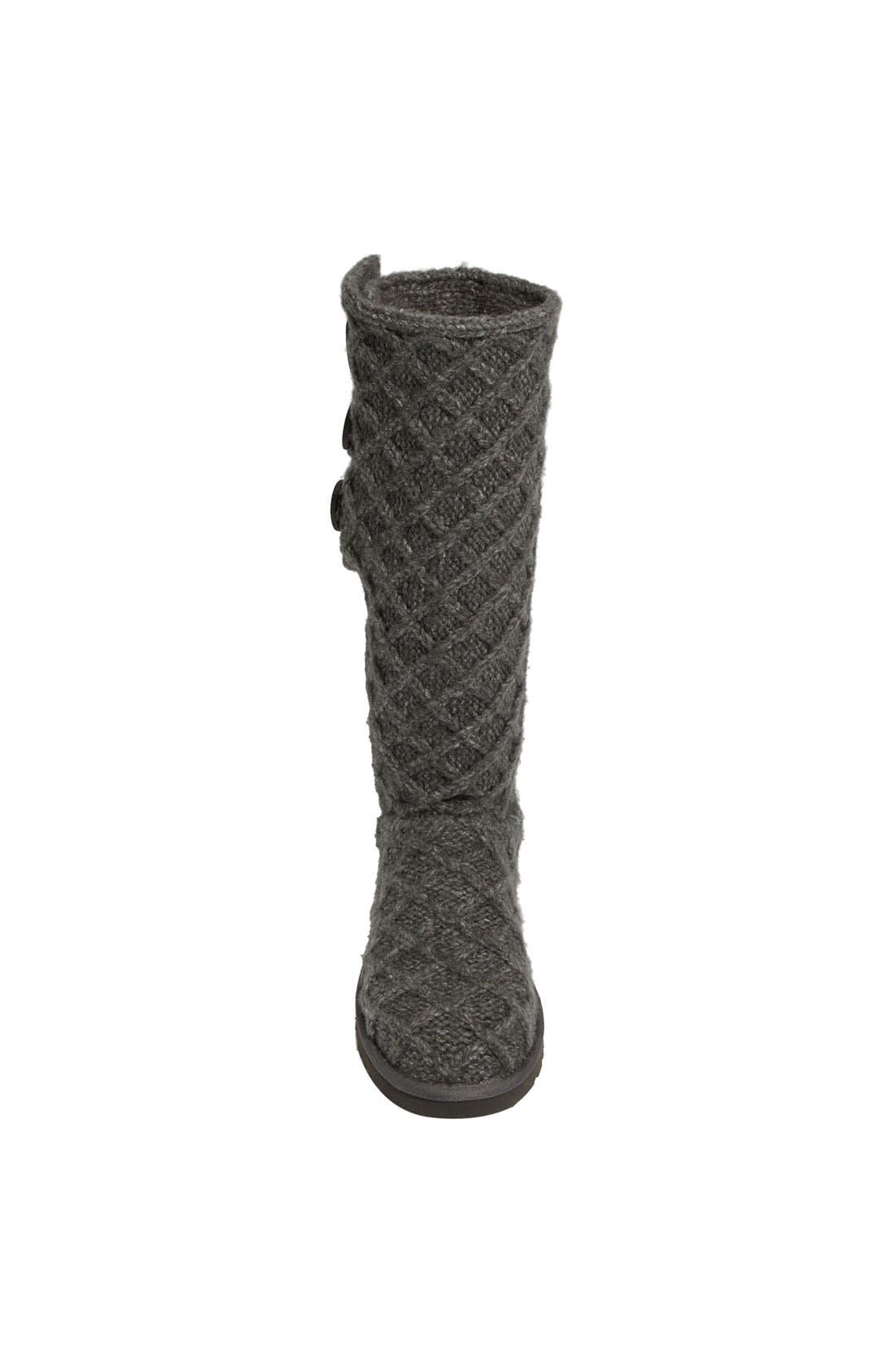 Alternate Image 3  - UGG® Australia 'Lattice Cardy' Boot (Women)