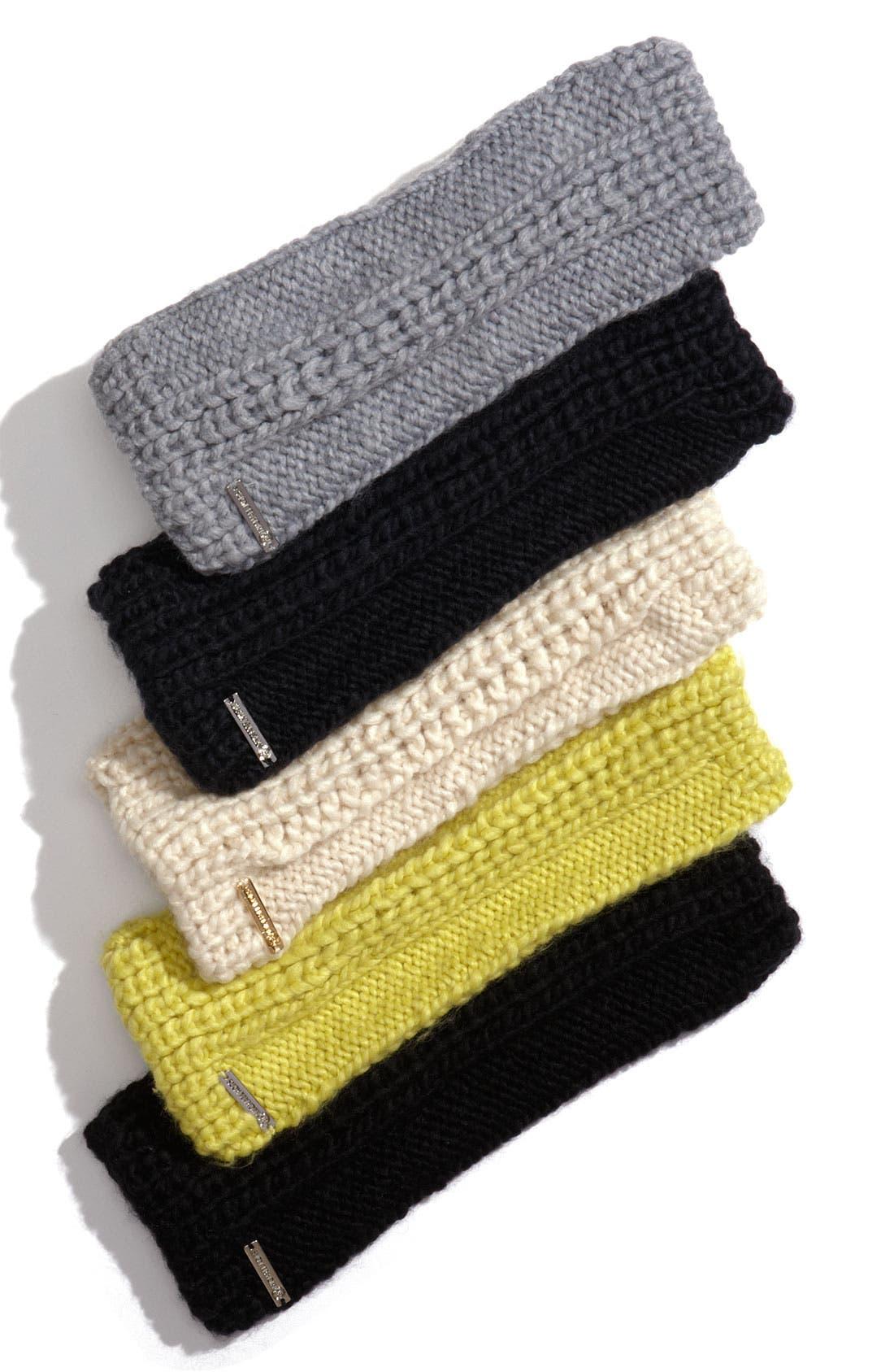 Alternate Image 1 Selected - MICHAEL Michael Kors 'Fisherman' Fingerless Gloves
